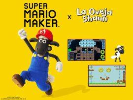 Ya disponible el nivel de la oveja Shaun en Super Mario Maker 2