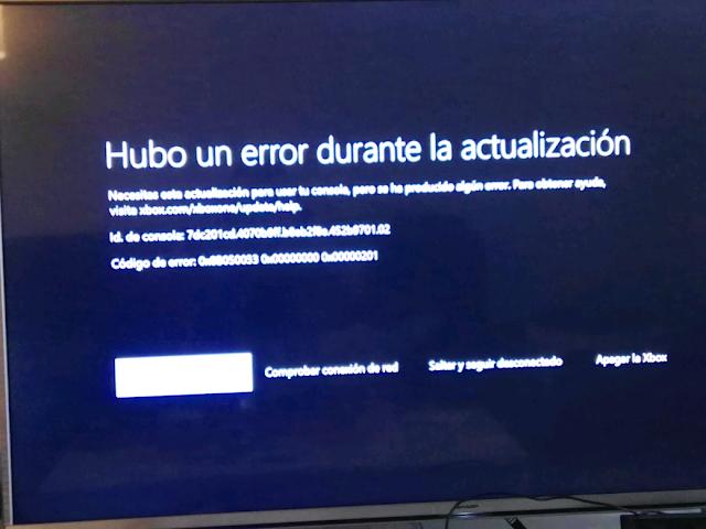Cuidado con la nueva actualización de Xbox One, os contamos lo que sucede 1