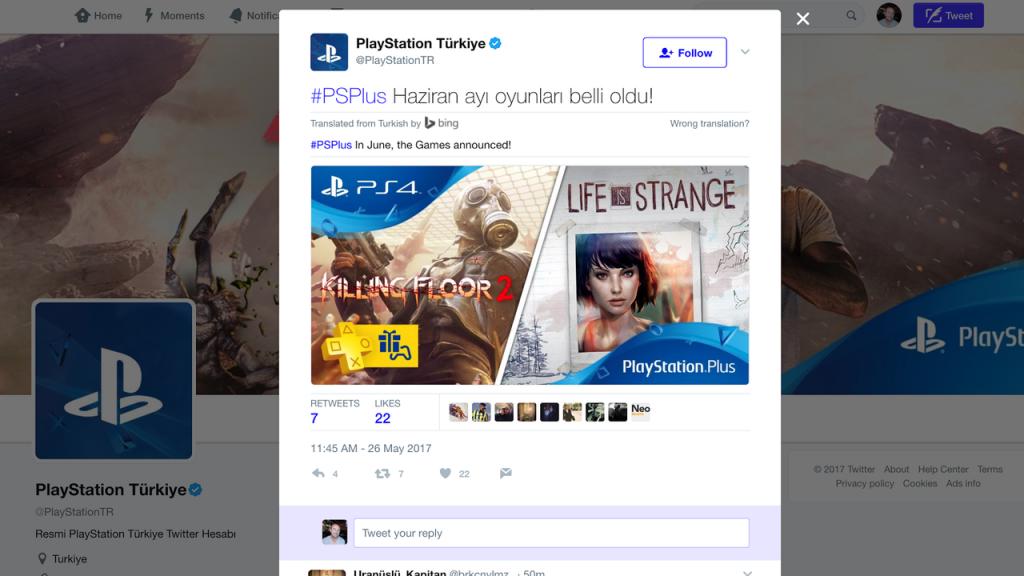 Killing Floor 2 y Life is Strange serían los juegos PSN + de junio 1