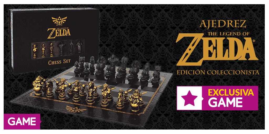 ¡No te pierdas este exclusivo ajedrez de Zelda de GAME! 1