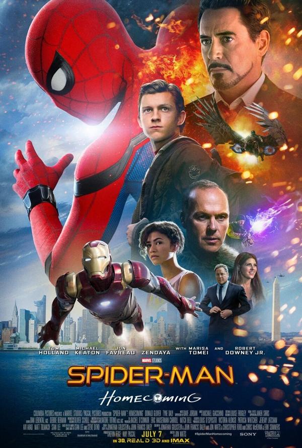 Spider-Man Homecoming enseña nuevo espectacular tráiler y cartel 1