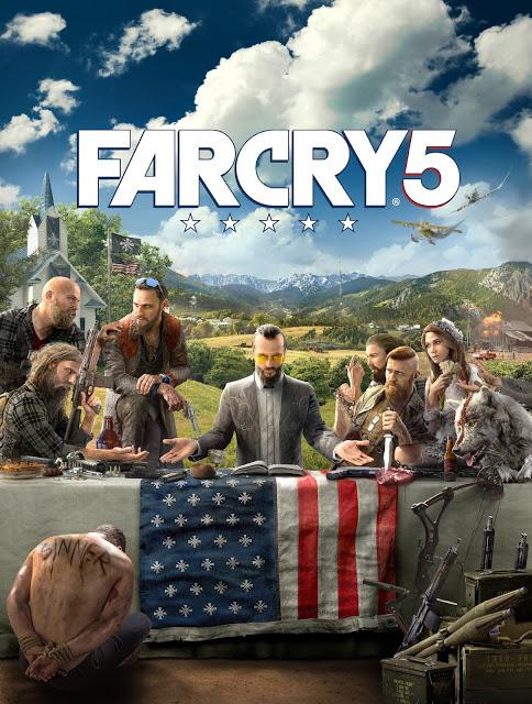 Far Cry 5 muestra su portada y primera imagen 1