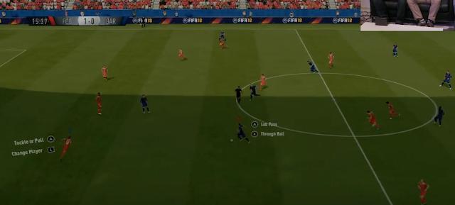 No te pierdas este gameplay de FIFA 18 en Nintendo Switch de la Gamescom 1