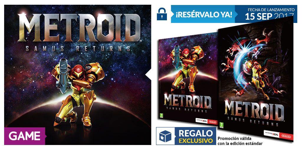 Metroid Samus Returns y póster de doble cara en GAME, ¡no se puede pedir más! 1
