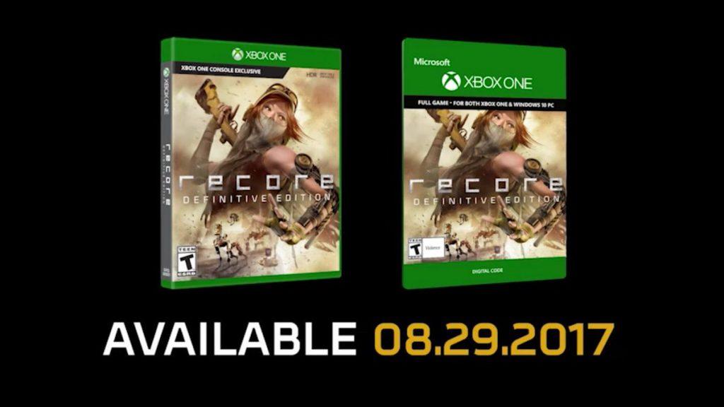 ReCore Definitive Edition se confirma para el 29 de agosto 1