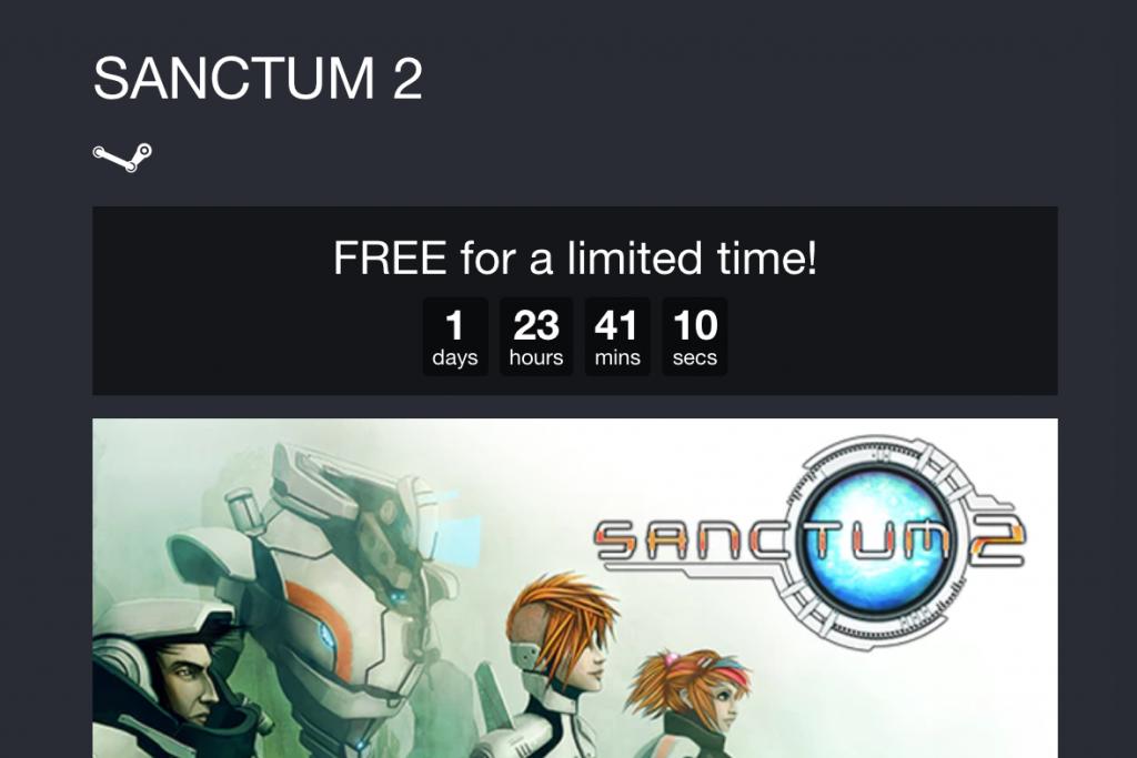 Sanctum 2 gratis para Steam (PC) 1
