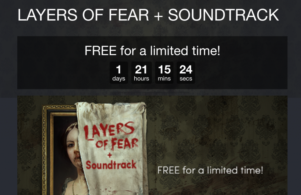 Layers of Fear gratis para Steam 1