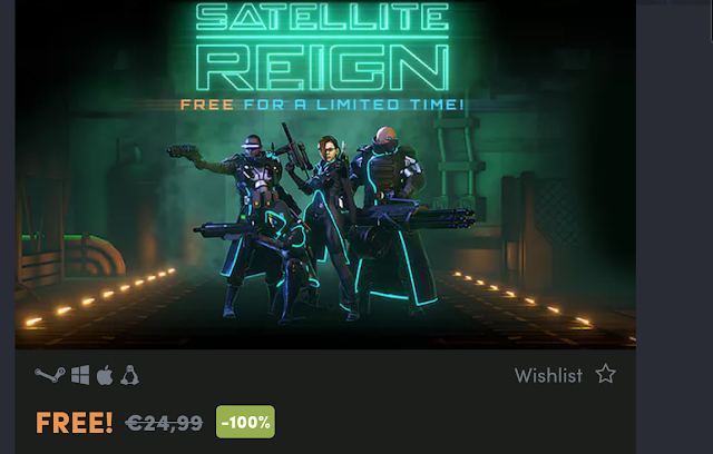 Satellite Reign gratis para Steam 1