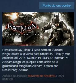 El fracaso de Batman 4