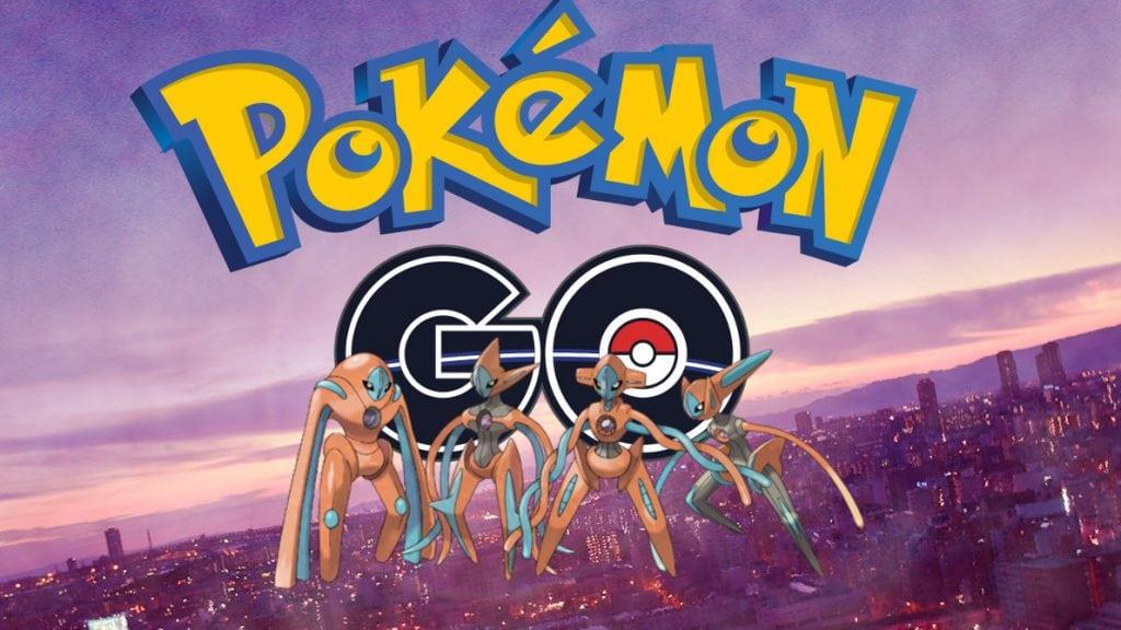 Deoxys invade las incursiones EX en Pokémon GO