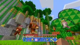 Ya disponible el pack de Super Mario en Minecraft: Wii U Edition 3