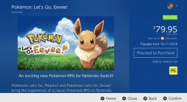 Ya se conoce el tamaño de Pokémon Let's Go