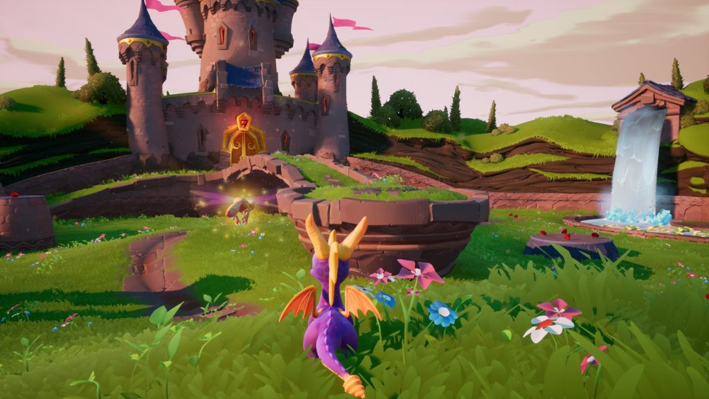 spyro gameplay