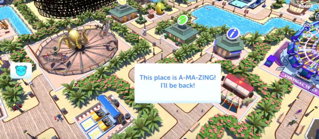 RollerCoaster Tycoon Adventures llegará este mes a Nintendo Switch