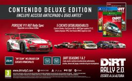 Codemasters anuncia las ediciones Day One y Deluxe de DiRT Rally 2.0