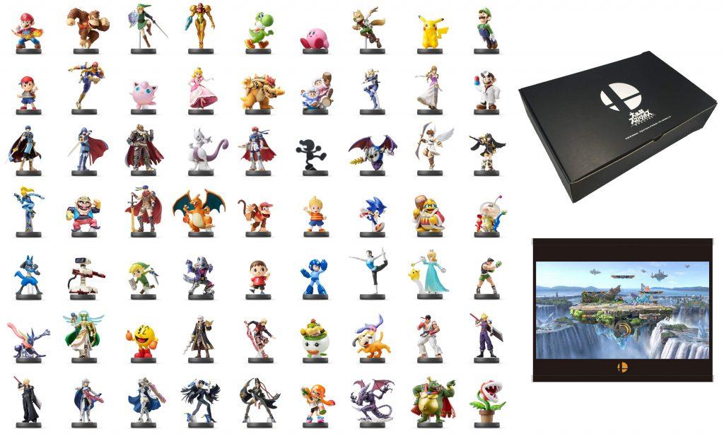 Se lanzará pack con todos los amiibos de Super Smash Bros