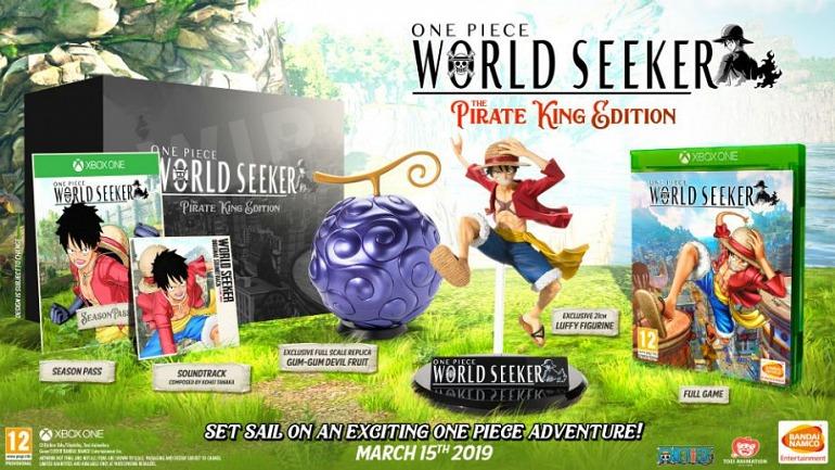 One Piece: World Seeker presenta edición limitada y fecha de lanzamiento