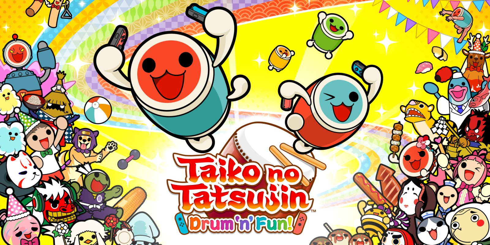 Análisis | Taiko no Tatsujin: Drum 'n' Fun!