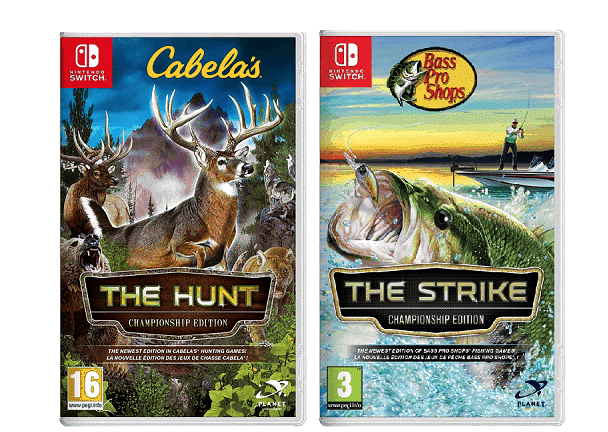 Ya a la venta Cabela's The Hunt y Bass Pro Shops The Strike