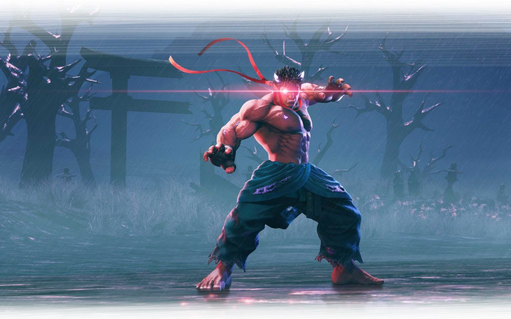 Kage un nuevo luchador que se incorpora a Street Fighter® V: Arcade Edition