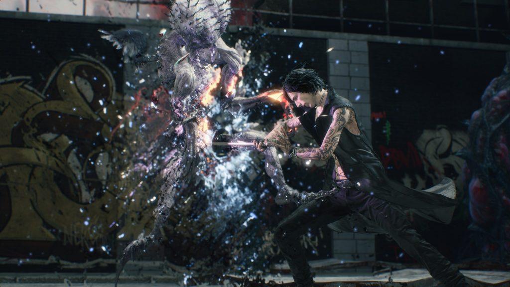 Conoce en profundidad a V nuevo personaje jugable de Devil May Cry 5