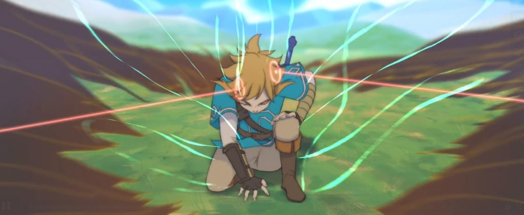 Crean un corto animado de Zelda: Breath of the Wild