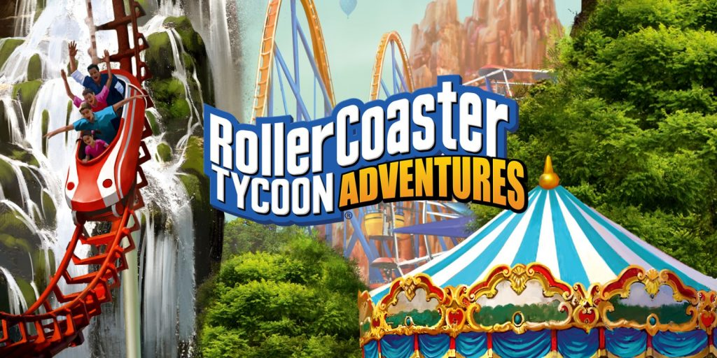 analisis RollerCoaster Tycoon Adventures