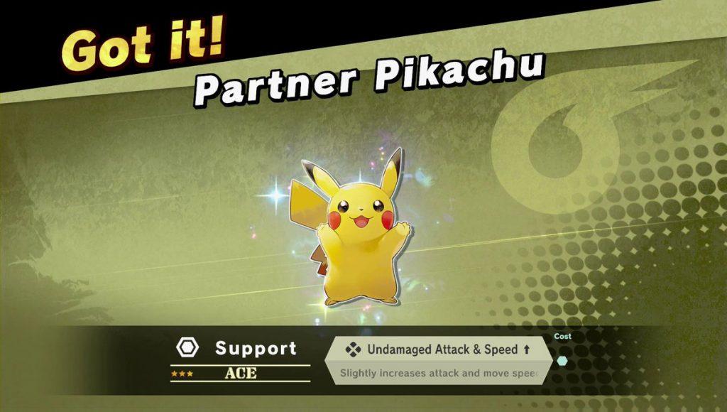 Super Smash Bros. Ultimate nos obsequiará con un espíritu si tenemos Let's Go