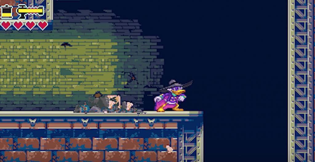 Se muestra videojuego cancelado del Pato Darkwing