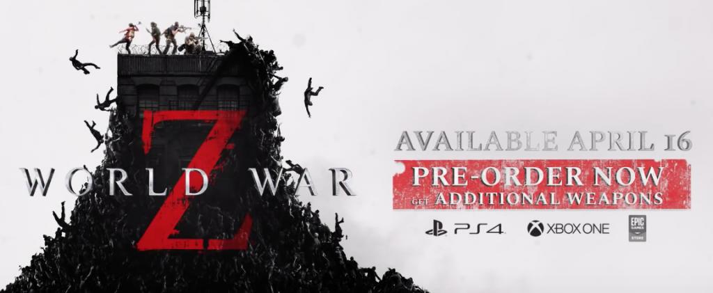 World War Z comparte su fecha de lanzamiento oficial
