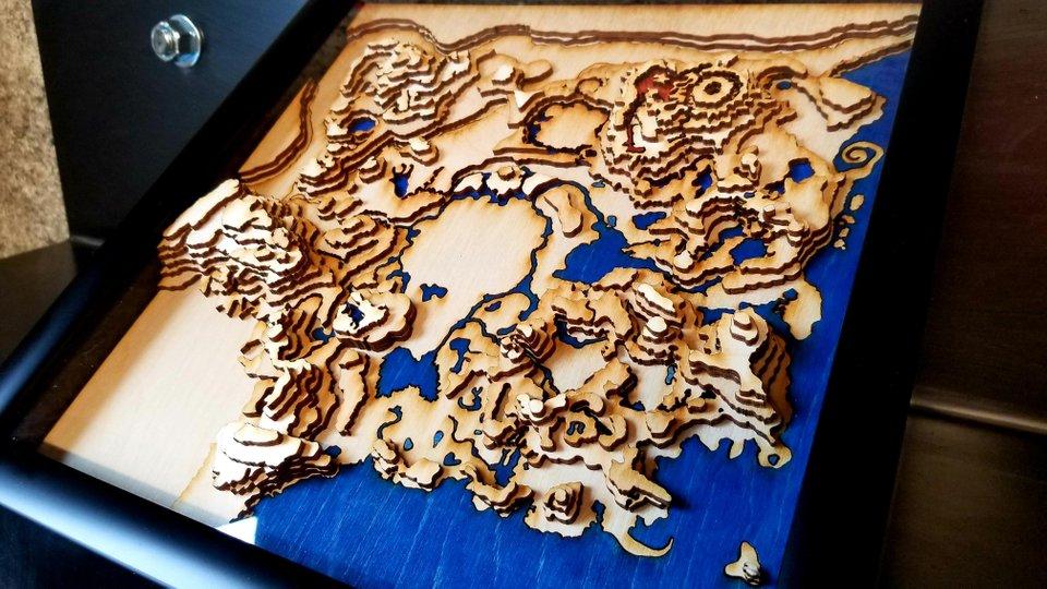 zelda mapa