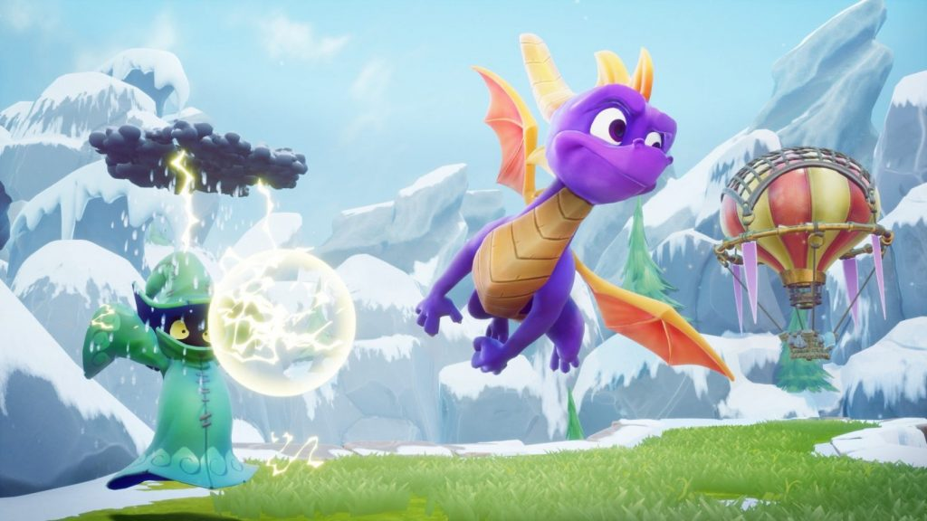 Se lista Spyro: Reignited Trilogy para Nintendo Switch