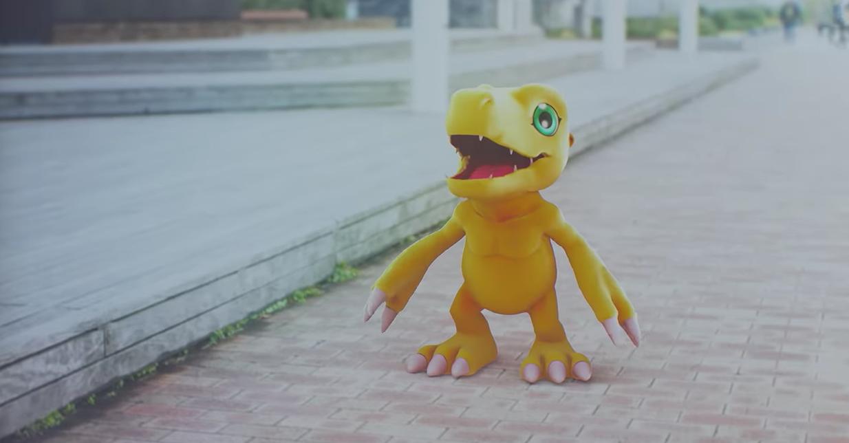 Project Digimon es presentado, apunta a título de realidad virtual