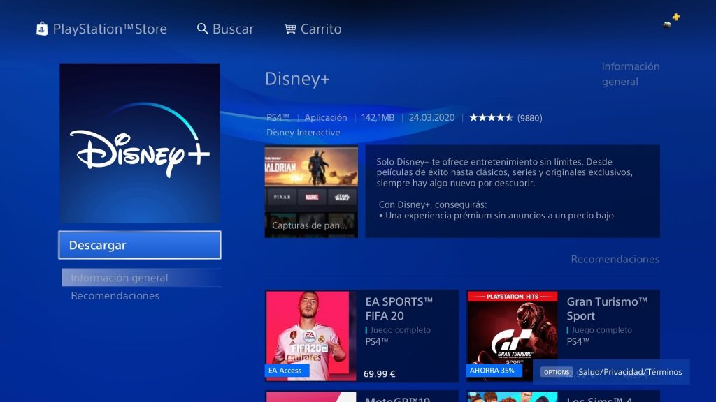 disney + playstation