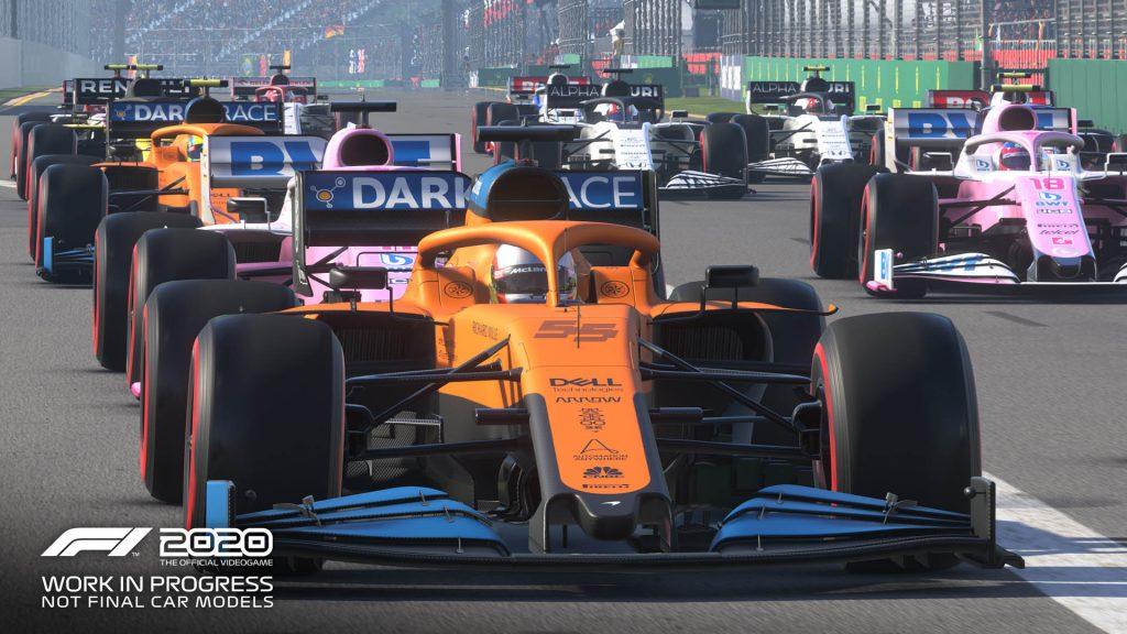 F1 2020 nos presenta una vuelta rápida del Circuito de Mónaco