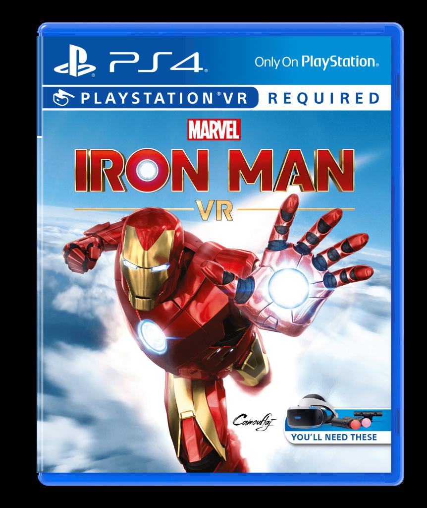 iron man realidad virtual