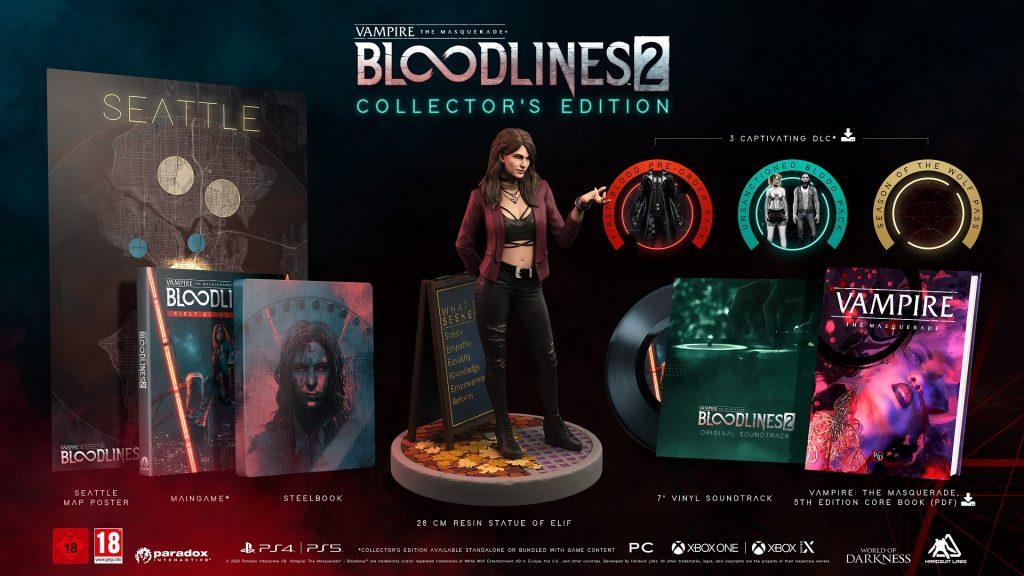 bloodlines 2 coleccionista
