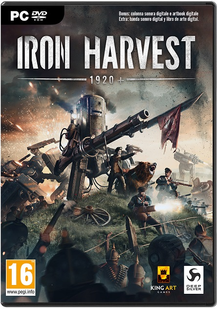 beta abierta de Iron Harvest 1920+