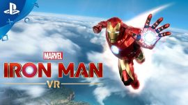 analisis iron man vr