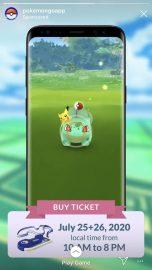 bulbasaur gorra pokemon go fest