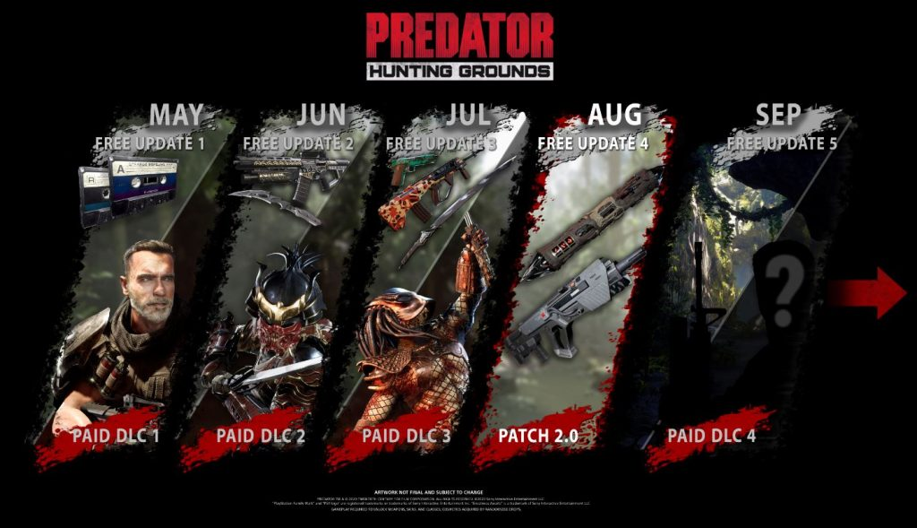 Predator Hunting Grounds  parche