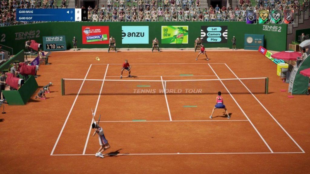 tenis world tour 2 características