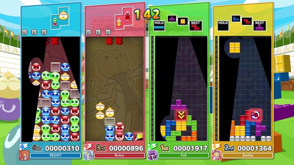 batalla Puyo Puyo Tetris 2