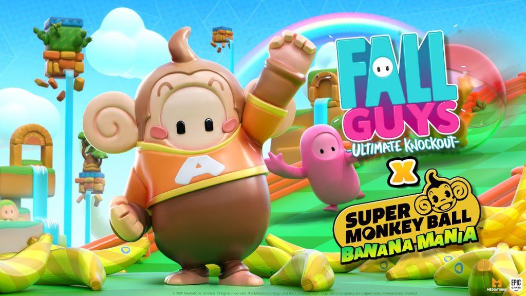 Super Monkey Ball Banana Mania fall guys