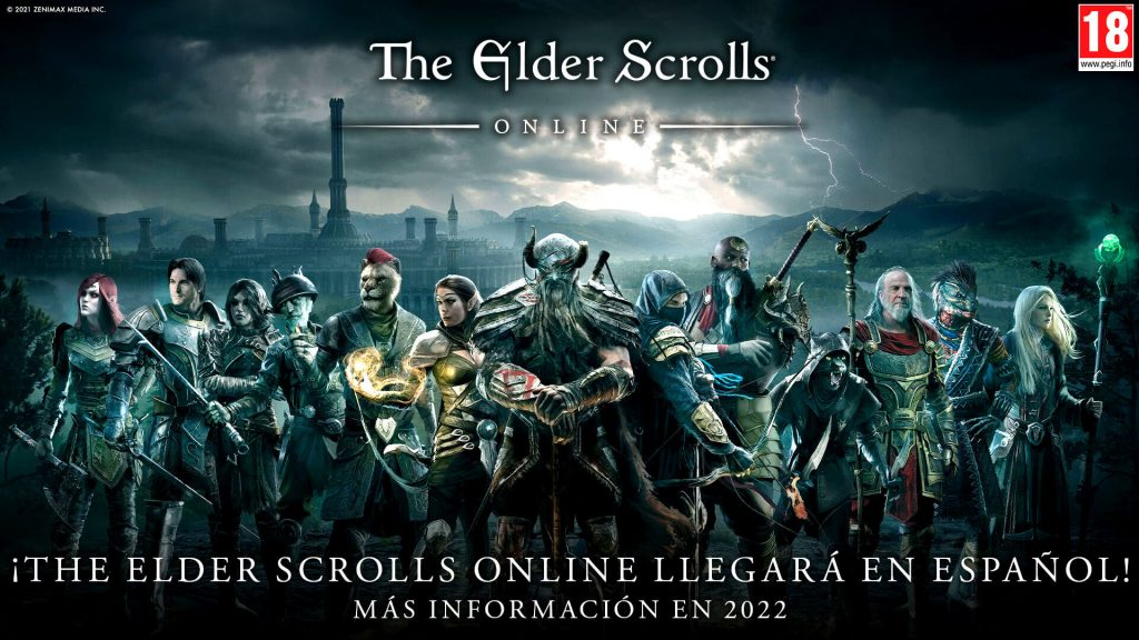 the elder scroll online español